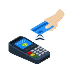 Contactless Payments Accepted In The Taxi